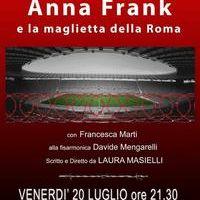 Anna Frank maglietta della Roma