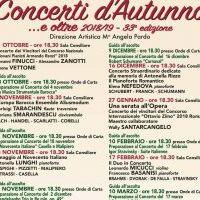 Concerti DAutunno 2018 2019