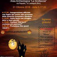 Locandina Halloween Ladispoli